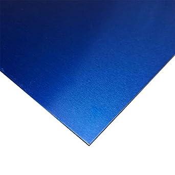 Amazon.com: Online Metal Supply Blue Anodized Aluminum ...