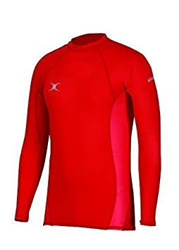 New Gilbert Atomic Flat Locked Seams Winter Protection Rugby Sports Baselayer