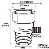 Shower Valve, Aomasi Brass Construction Water