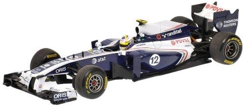 Minichamps 410110012 - AtundT Williams Cosworth FW33 - Pastor Maldonado, Maßstab: 1:43