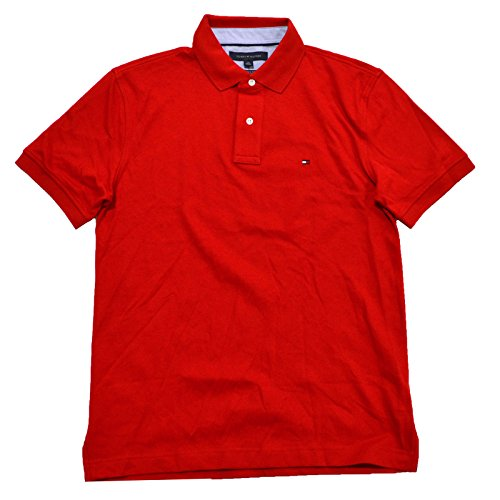 tommy-hilfiger-mens-custom-fit-interlock-polo-shirt-m-hilfiger-red