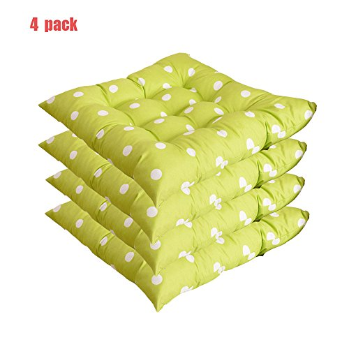 Dot Chair Pads with Ties (Set of 4)   16
