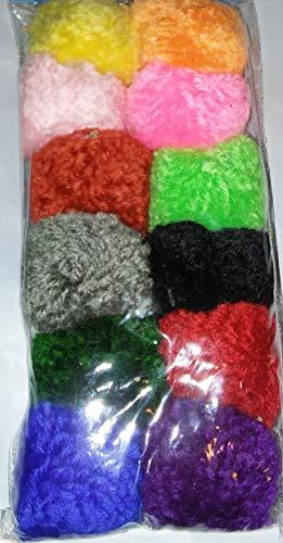 Votoys Wool Pom Pom Balls Value Pack (24 Toys) Xpet