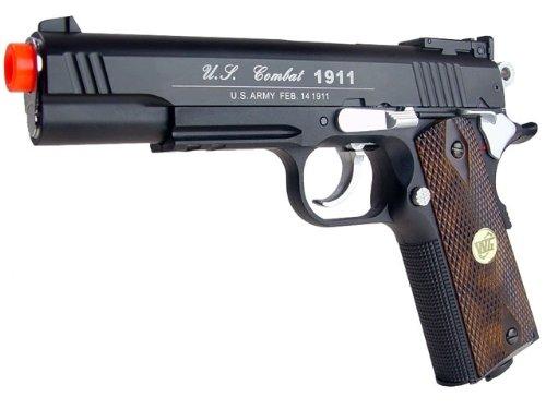 wingun combat 1911 pistola de airsoft co2 (pistola de airsoft)