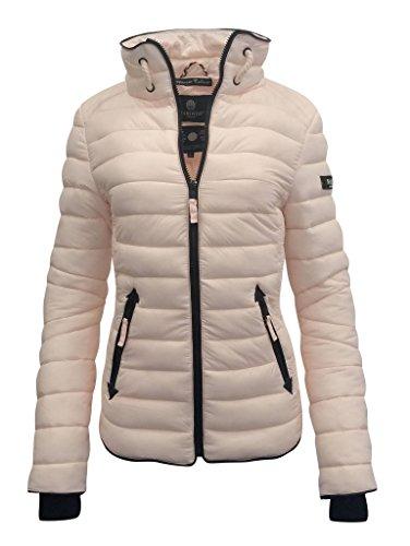 buy popular bb577 96f46 Marikoo Damen Übergangs Steppjacke Frühling Herbst Jacke mit ...