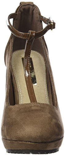Sra Bride Femme taupe Sandales Antelina Zapato Beige Arriere Taupe Xti Combinada 8vwqYZx5