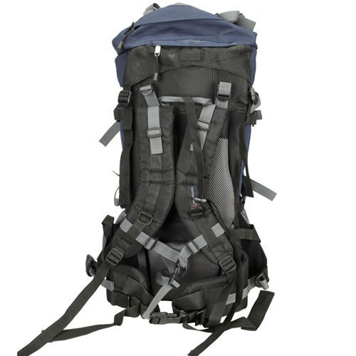 80L Professional Backpack Shoulders Bag Camping Hiking External Frame