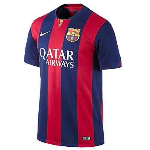 Barcelona Home SUAREZ #9 Men Jersey 2014-2015 (X-Large)