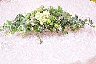 グリーンアレンジメント(造花)インテリアフラワー(造花)観葉植物多肉植物 B01HFZP77I