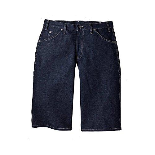 "Dickies Men's 15"" Loose Fit Denim Jean Shorts ER305 Blue Siz"