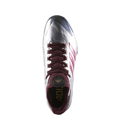 adidas Adizero Afterburner 4 Faded Mens Mens By3679 Silvmt,cburgu,cblack