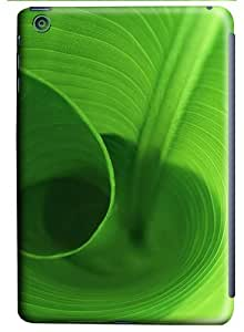Green Spiral Life PC Case for iPad Mini