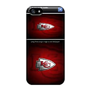 Hot Style HrgfS7091QMGkP Protective For SamSung Galaxy S4 Phone Case Cover (kansas City Chiefs)