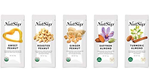 NutSip Variety Pack - Delightfully Delicious Creamy Nut Tea