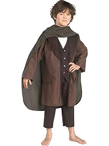 Halloween Costumes Guys With Beards (Lord of the Rings Frodo Child Costume Size)