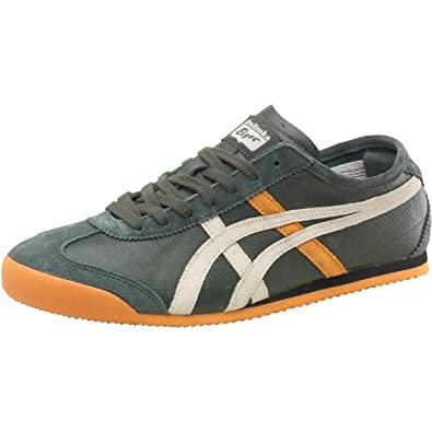 save off e2bb7 855f0 Mens Onitsuka Tiger Mexico 66 Vintage Leather Deep Forest ...