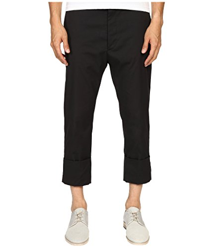 Stretch Cotton Cropped Trousers - 2