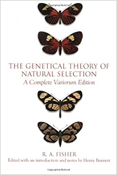The Genetical Theory Of Natural Selection Amazon