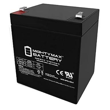 Mighty Max 12V 5AH SLA Lawn Mower Battery