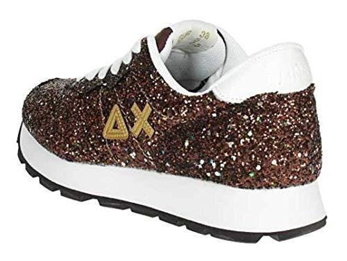 Glitter Donna Ally Sun68 Thick Sneaker Z28207 Scarpa Casual xEvHw