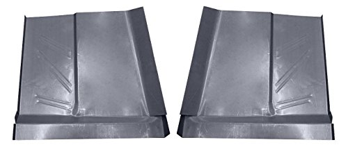 (Motor City Sheet Metal - Works With 1960 1961 1962 1963 1964 1965 FORD FALCON COMET RANCHERO FRONT FLOOR PANS PAIR)