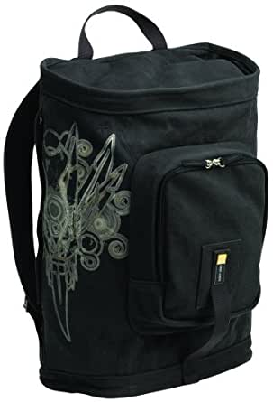 Case Logic SNBP-17F 17-Inch Fullsize Canvas Lifestyle Backpack (Dark Gray)