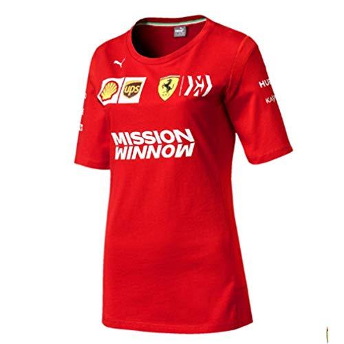 - Ferrari Scuderia 2019 F1 Women's Team T-Shirt (L) Red