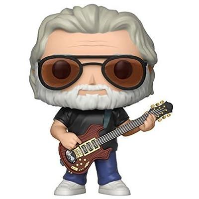 Funko Pop! Music: Jerry Garcia Collectible Figure: Funko Pop! Rocks:: Toys & Games