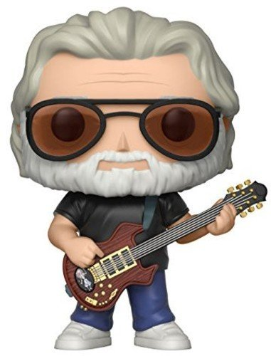 Funko Pop! Music: Jerry Garcia Collectible Figure (Best Nhl Fighters Of All Time)