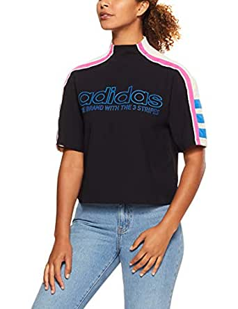 adidas Women's DH4188 Originals T-Shirt, Black, 44