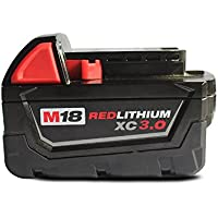 HeShunChang 18V 5.0Ah M18 Replacement Battery For Milwaukee 148-11-1840, 48-11-1815, 48-11-1820, 48-11-1840 Lithium battery