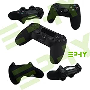 Brand New Silicone Protection Cover Case Skin for Sony PS4 PS Playstation 4 Dual Shock Controller (Black)