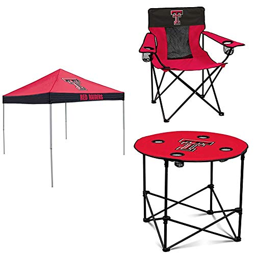 (Logo Brands TX Tech Tent, Table and Chair Package)