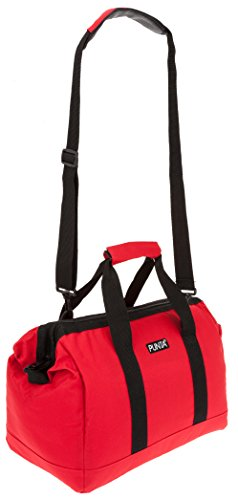 PUNTA® Tasche EVERYDAY BAG Reisetasche Sporttasche + Faltshopper (Grün 3700) Rot 0200 BTFVSL