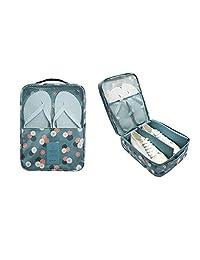 erioctry 1PC Fashion Travel Portable Shoe Bags Multicolor Storage Organizer Bag for Men Women