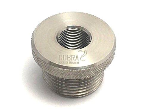 1/2-28 to 3/4 NPT NAPA 4003 Filter FLUSH FIT! Titanium Plumbing Fitting Adapter