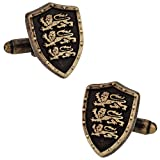 Cuff-Daddy Coat of Arms English Cufflinks with Presentation Box