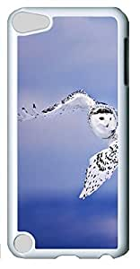 Fashion Customized Case for iPod Touch 5 Generation White Cool Plastic Case Back Cover for iPod Touch 5th with Eagle