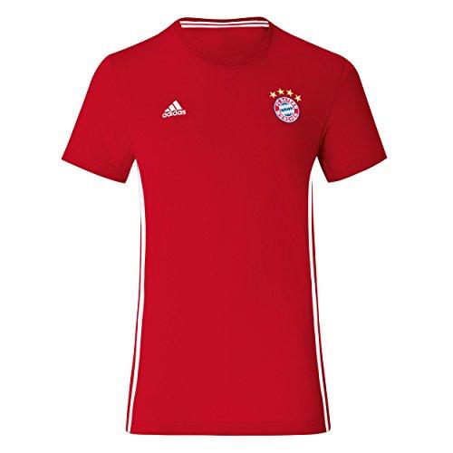 adidas FC Bayern Munich 3 Stripe TEE [FCBTRU] (Bayern Munich 3 Stripe)