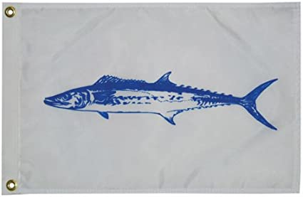 12 inch x 18 inch Fish Pennant Fishermans Catch Flag Nylon Taylor Made Products