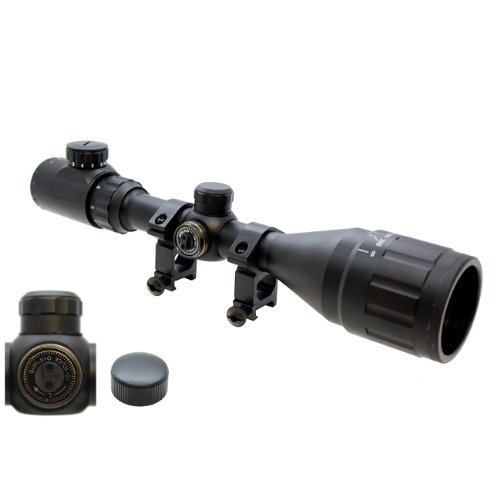 Hunting 3-9x50EG AO Red/Green Illuminated Crossbow Rifle Scope