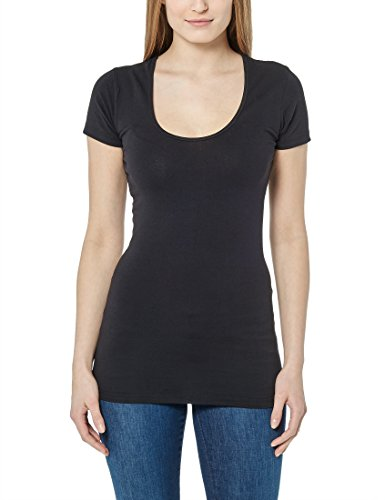 Berydale Camiseta de manga corta para mujer Negro (Schwarz)