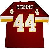 John Riggins Signed Washington Redskins Replica Mitchell & Ness Jersey - Steiner Sports Certified - Autographed NFL Jerseys