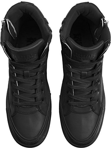 Streetwear MAG Scarpe Uomo Shoe Top Classics Zipper High TB1271 Black Urban rqfr0wA