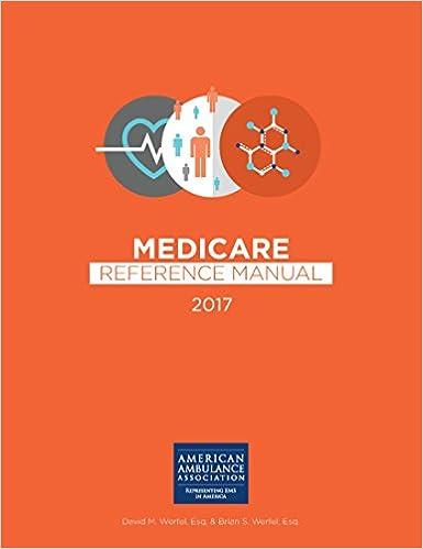 Amazon com: American Ambulance Association Medicare Reference Manual