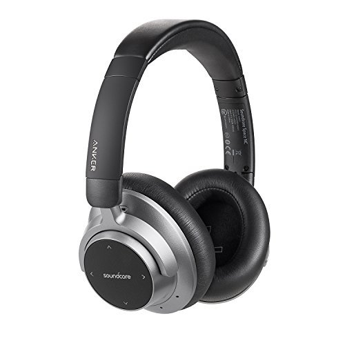 Soundcore Space NC Wireless Noise Canceling Headphones Anker Touch Control, 20-Hour Playtime, Bluetooth 4.1, Foldable Design Travel, Work Home by Soundcore