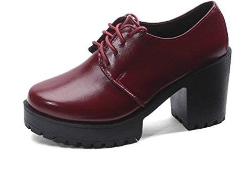 Chaussures Talons British Basse Strap XDGG Printemps Femmes Cross Simple hauts Bouche Chaussures xCqWOTWv6w