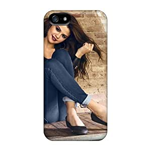 Premium Durable Selena Gomez Actress Fashion Tpu Iphone 5/5s Protective Case Cover