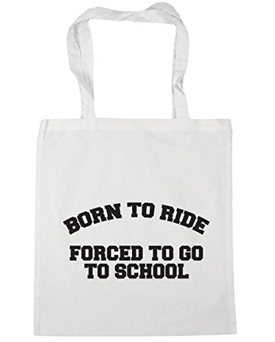42cm to go ride Born Shopping HippoWarehouse Bag White x38cm Gym litres to 10 Tote Beach school forced to XwqgxIUOp