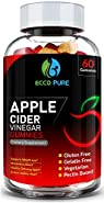 Apple Cider Vinegar Gummies - Supports All Natural Weight Loss, Appetite Control, Healthy Metabolism, Detox - Yummier Than Diet Pills or Capsules - 60 Gummies for Women & Men